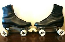 Vintage Riedell Roller Skates, Chicago Custom GM II, Size 8, All American Plus