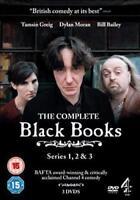 Nero Libri Serie 1 A 3 Collezione Completa Nuovo DVD Region 2