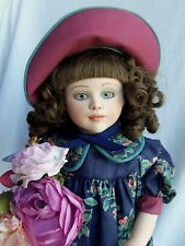 "Jan Hagara 14"" doll ANN MARIE #128 of 500, B&J Company, in Box"