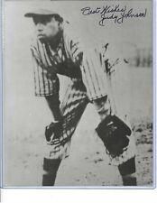 Judy Johnson Negro League Baseball HOFer Autographed 8x10 Photo PSA COA #2