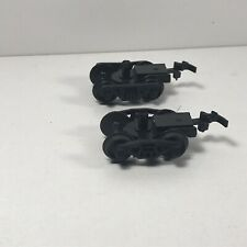 W14 Lot of 2 Misc. Ho Snap-In Trucks Train Freight Car Replacement Lot