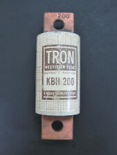 200A 500V - Very High Speed Fuse - Bussmann KBH-200 *NOS*