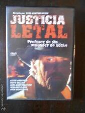 DVD JUSTICIA LETAL - CARL BARTHOLOMEW - COMO NUEVA (4I)