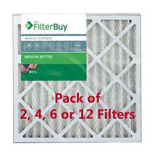 FilterBuy 20x20x2, Pleated Hvac Ac Furnace Air Filter, Merv 13, Afb Platinum