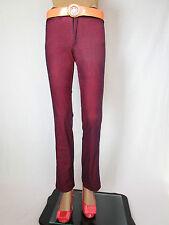 NEXOS JEANS Womens Vtg Retro High Waist Stretch Sexy Trousers Pants sz XS AQ81