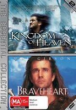 Kingdom of Heaven + Braveheart (2 Disc) VGC