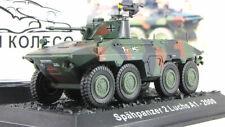Scale model tank 1:72  Spahpanzer 2 Luchs A1
