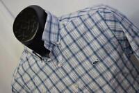 28690 Mens Vineyard Vines Slim Fit Whale Long Sleeve Plaid Dress Shirt Sz Small