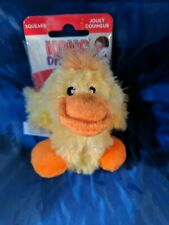 Kong Plush Duck Small  dog toy with extra squeaker