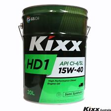 Kixx HD1 - Semi Synthetic Diesel Engine Oil - 15W-40, 20 Litre