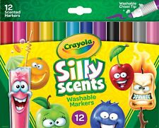 Crayola Silly Scents Slim Scented Washable Markers (cyo-588199) (cyo588199)