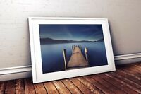 Landscape Photography Print. Ashness Jetty, Derwentwater, Lake District, England