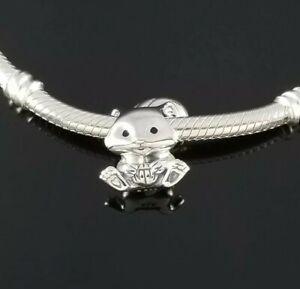 NEW Authentic Pandora Cute Squirrel Charm Silver s925 ALE