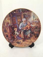 Bradford Exchange Opas Werkstatt Grandad Workshop Limited Edition Plate