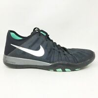 Nike Womens TR 6 849805-001 Dark Grey Running Shoes Lace Up Low Top Size 7