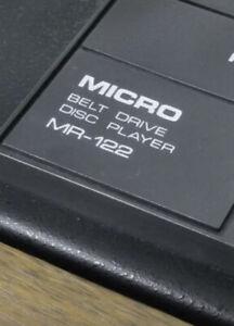 Micro Seiki MR 122 Top Zustand..ohne Tonsystem!jetzt Zuschlagen'Preissturz!!!!!!