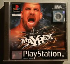 Wcw Mayhem PS1 Complete Playstation 1 Complete CIB VERY Fast Shipping Worldwide!