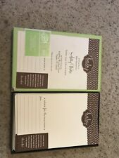 Two Boxes Of Baby Shower Invitations