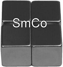 """1/2"""" x 1/2"""" x 1/2"""" Cubes - SmCo - Samarium Cobalt Rare Earth Magnet, Grade"""