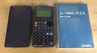 Casio FX-7400G Plus Power Graphic 32KB Scientific Calculator Engineer & Manual