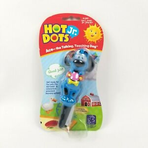 Educational Hot Dots Jr Pen Ace the Talking Teaching Dog