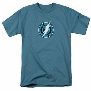 Green Lantern Blue Lantern Flash T Shirt Mens Licensed DC Comics Tee Slate