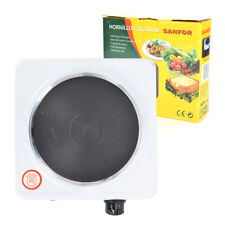 Electric Hot Plate Portable Kitchen Table Top Cooker Single Hotplate 1000W White