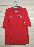 Chile Jersey 2010 Home MEDIUM Shirt Football Soccer Brooks