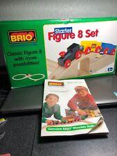 BRIO Figure 8 Starter Set  #33025 COMPLETE With Original Box