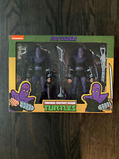 NECA Teenage Mutant Ninja Turtles | Foot Clan | Toon 2-pack NIB | TMNT