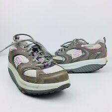 Skechers Womens Shape Ups Shoes Gray Purple 11806 Toning Walking Size 6