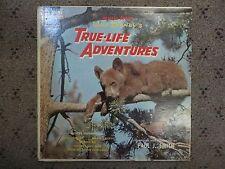 "Disney: True Life Adventures 12"" Vinyl LP VG+, Cover VG, WDL-4011"