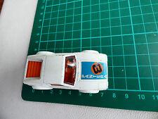 MATCHBOX LESNEY DE TOMASO PANTERA MB 8C-09 White Original Diecast Toy Car Vintag