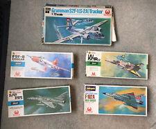 Lot Of 5 Hasegawa Hales Not Airfix 1/72 Plastic Aircraft Model Kits New Sealed