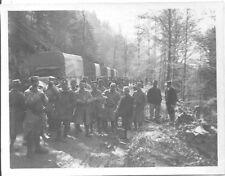 EMBARQUEMENT DANS LES AUTOS~LA SCHLUCHT-ALSACE~10/5/1915-BERLIET?RENAULT?SAURER?