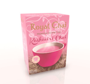 Royal Chai Premium Instant Tea Kashmiri Chai (Pink Tea) Sweetened