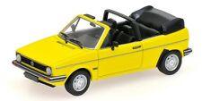 Volkswagen VW Golf Cabriolet 1980 Yellow 1:43 Model 400055130 MINICHAMPS
