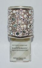 BATH & BODY WORKS GOLD GEMS PEARLS WALLFLOWER FRAGRANCE PLUG IN HOLDER FRESHENER