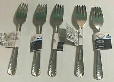 Lot Of 20 Heavy 18/0 Metal Dinner Forks Stainless Steel Flatware Silverware Set