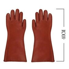 Insulated 12kv High Voltage Electrical Insulating Gloves For Electricians F7