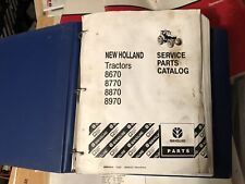 New Holland 8570 8970 Tractor Factory Genuine Parts Catalog