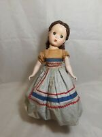 "Vintage Madame Alexander Little Women Doll "" BETH "" 1950's"