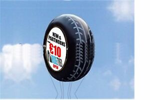 3m  Tyres ADVERTISING BALLOON INFLATABLE HELIUM BLIMP WITH YOUR LOGO