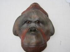 Taxidermie orang outan mâle trophée factice taille réelle