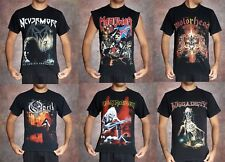 opeth megadeth motorhead iron maiden manowar nevermore t-shirt metal rock shirt