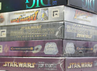 "Big Box PC Games - SEALED - 3.5"" / 5.25"" DOS MAC - YOU CHOOSE MINT NOS NEW"