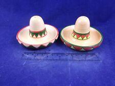 Mexican Spanish Sombrero Mariachi Party Straw Sun Head Hat Salt Pepper 17437B6