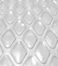 12 x 20 Oval Crystal Clear Diamond Swimming Pool Solar Blanket Cover - 12 Carat