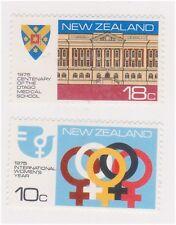 (K118-183) 1975 NZ 10c &18c Anniversaries MUH (GP)