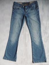 Karen Millen Bootcut aged blue Denim Jeans Hose Gr 36 W28/L32 1AZust. $24